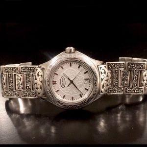 Lois Hill Sterling Silver Swiss Watch 925